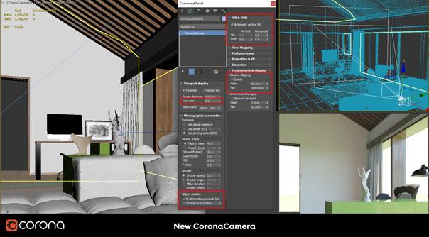 Corona Renderer 1.7 CoronaCamera