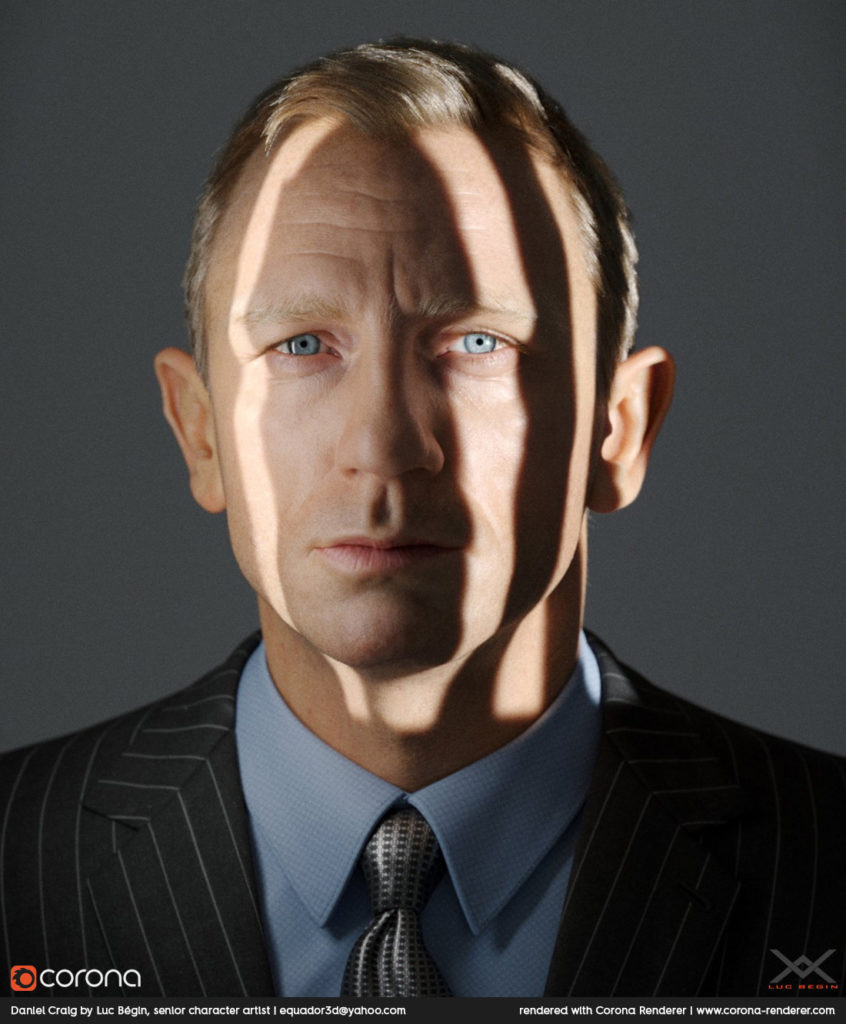 Daniel Craig by Luc Bégin
