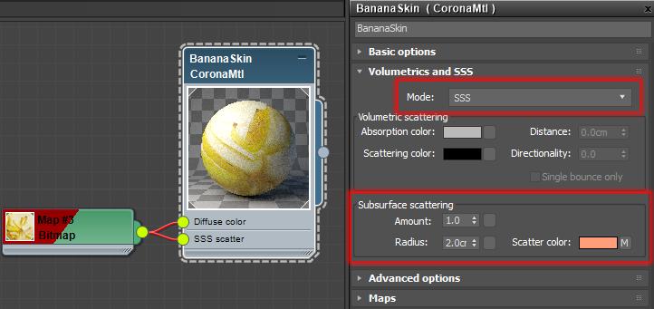 Corona Renderer 1.7 New SSS mode