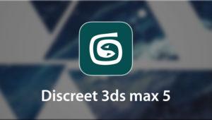 Discreet 3ds Max 5 logo