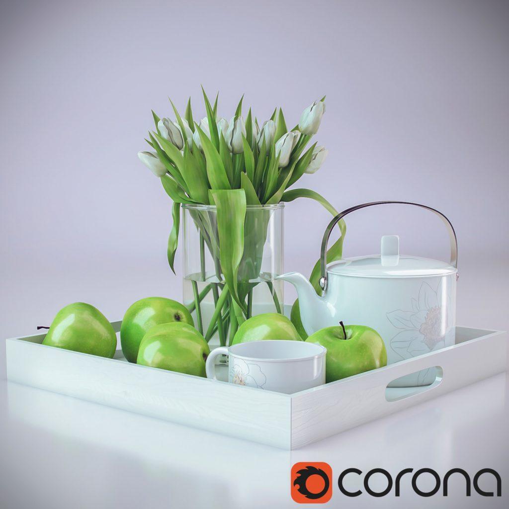 Andrew Krivulya first Corona render