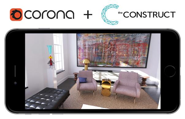 Corona plus theConstruct