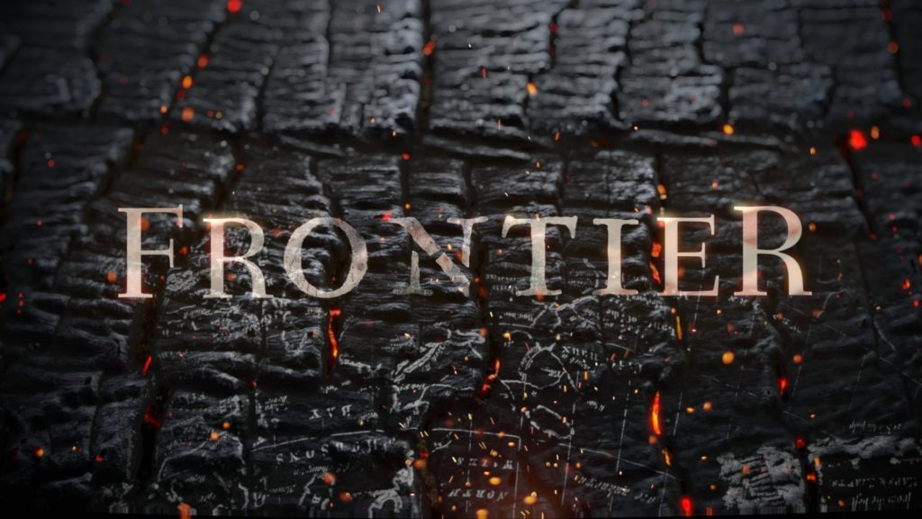 iamstatic Frontier title sequence
