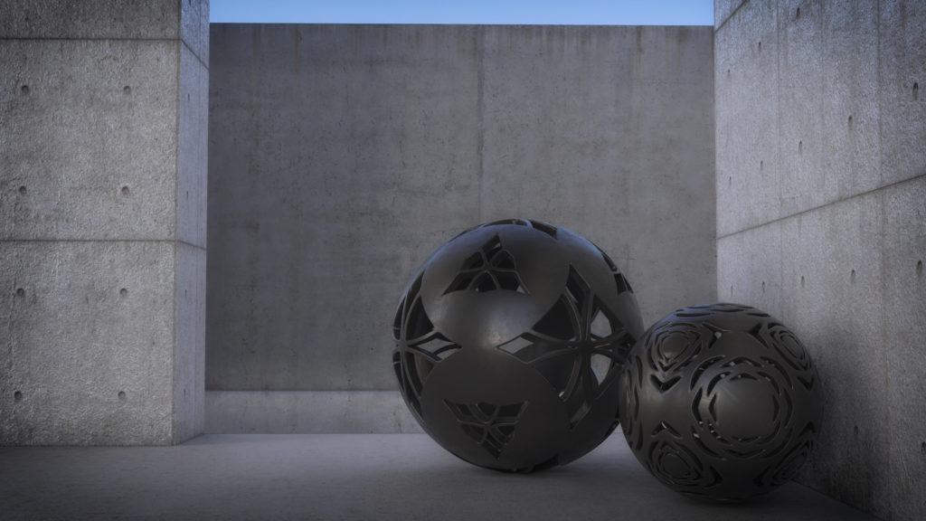 Juan Monsivais, Concrete Environment. Corona Renderer.