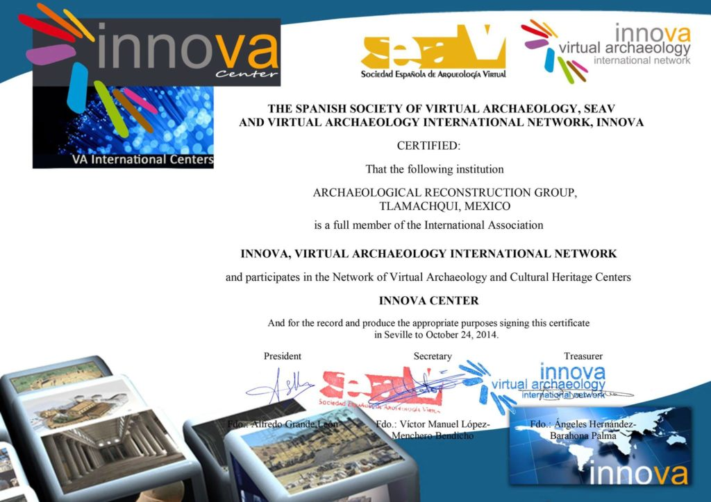 Juan Monsivais Spanish Society of Virtual Archaeology