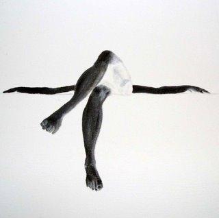 Juan Monsivais, mixed media painting