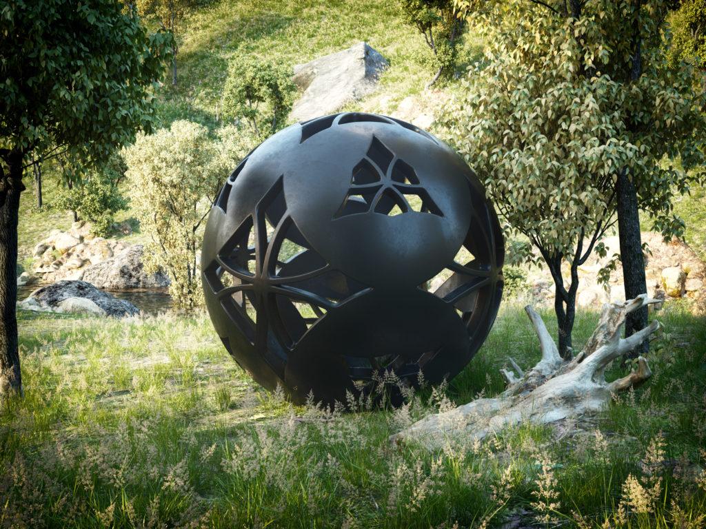 Juan Monsivais Sphere Exterior