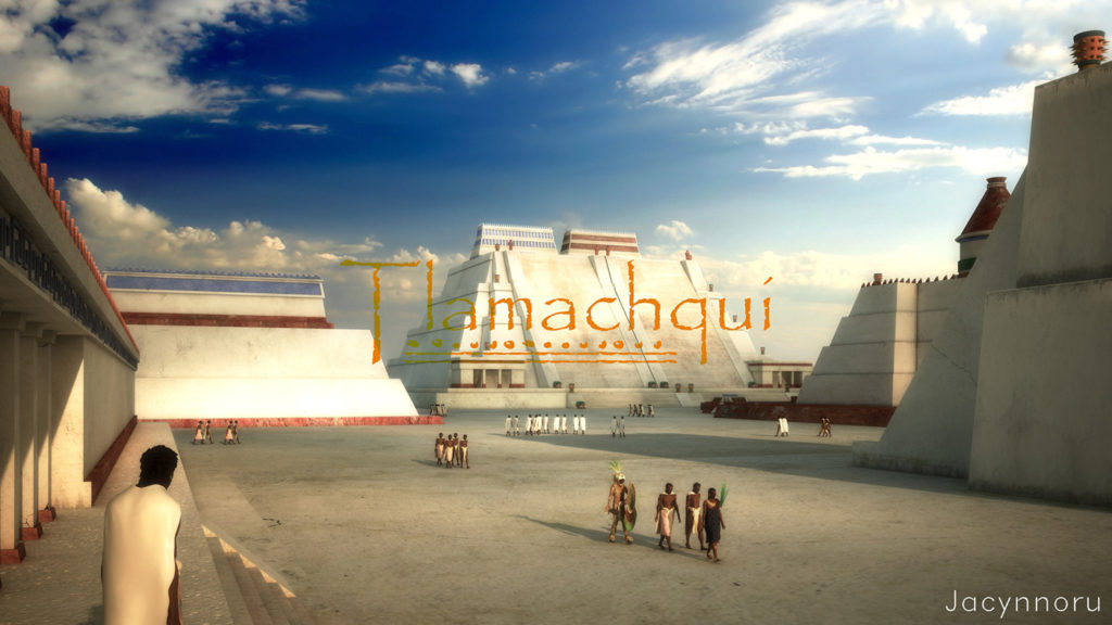 Juan Monsivais Tenochtitlan, Mexico. V-Ray.
