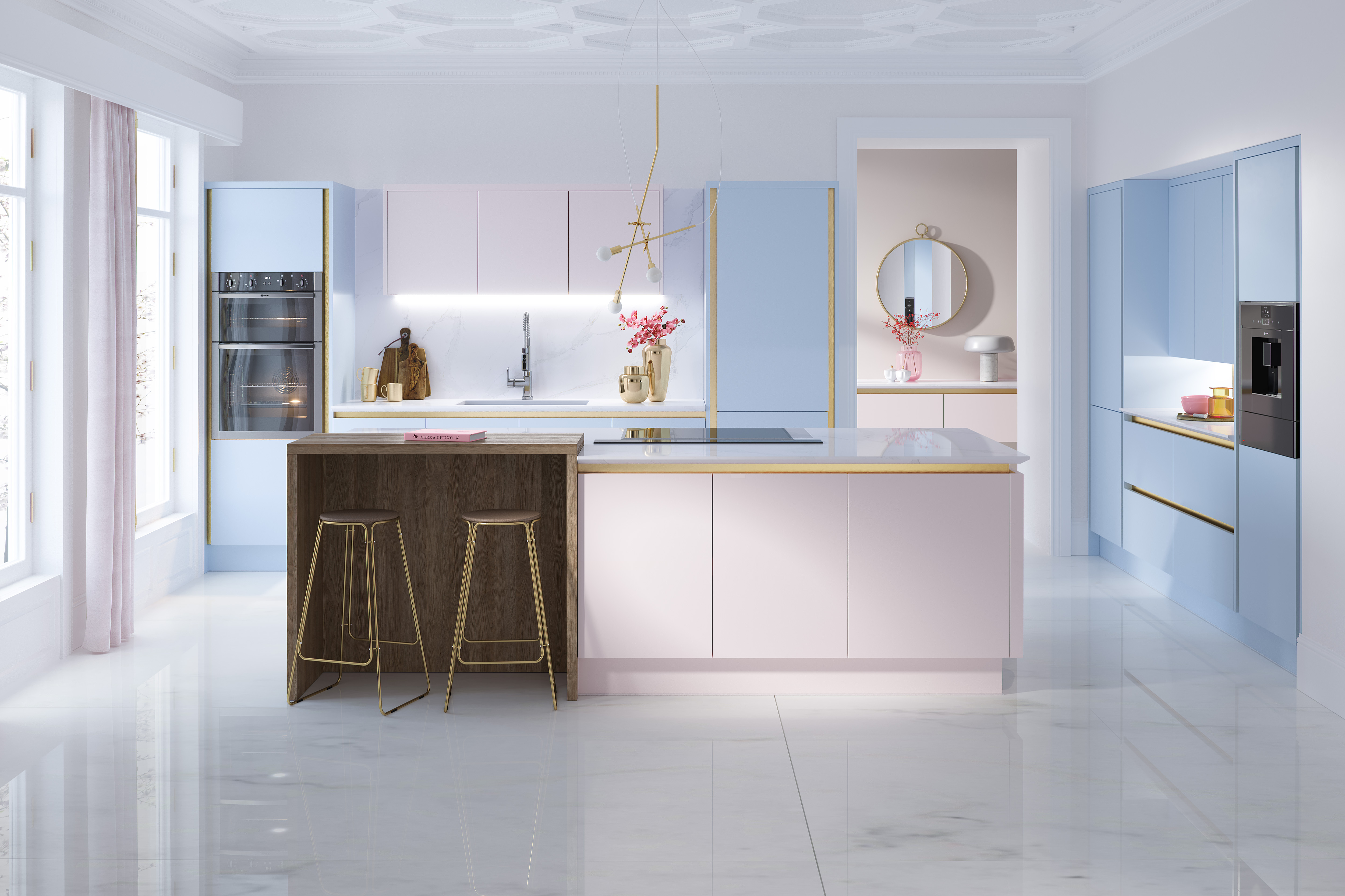 Pikcells, Macaroon Kitchen Design