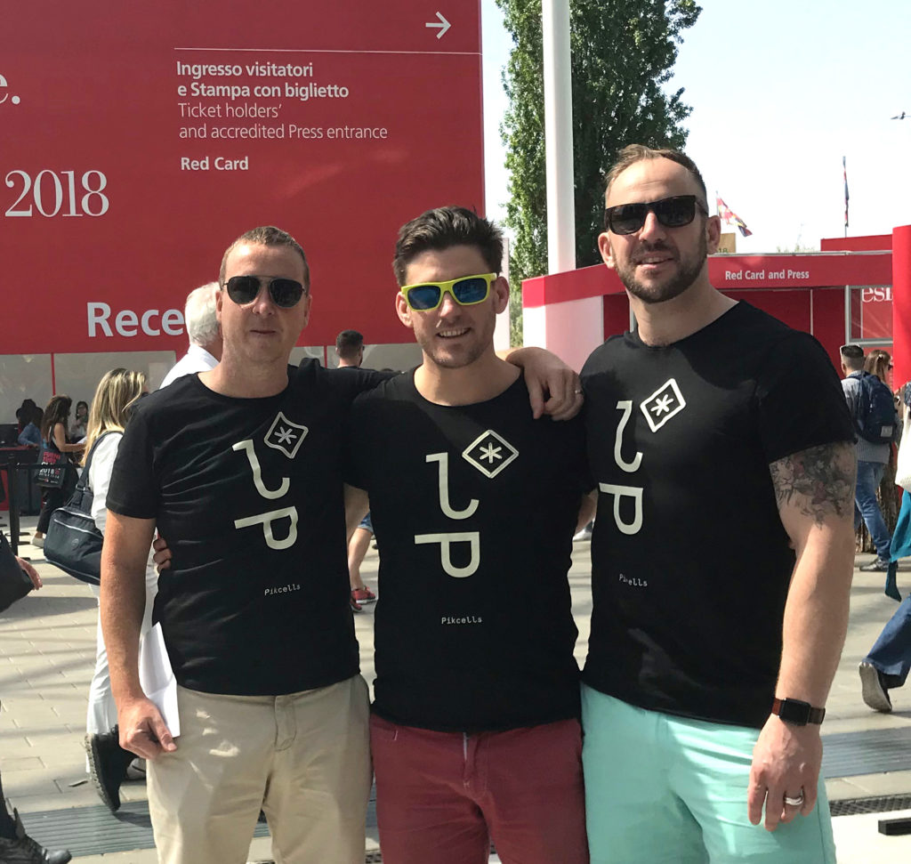 Steve, Rich, and Matt, the directors behind Pikcells