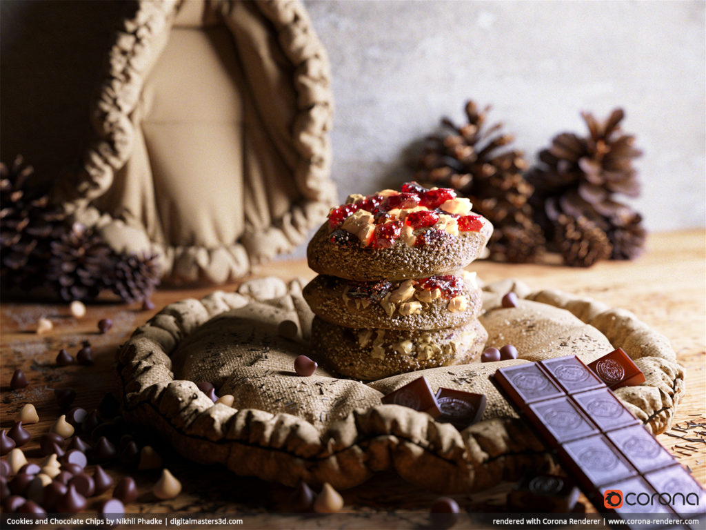 Cookies and Chocolate Chips by Nikhil Phadke