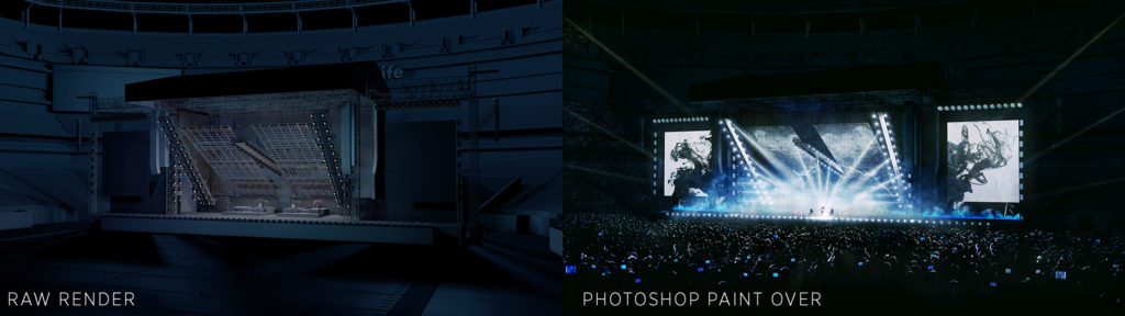 Evan Alexander, Eminem & Rihanna's Monster Tour