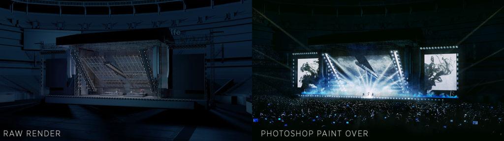 Evan Alexander, Eminem & Rihanna's Monster Tour
