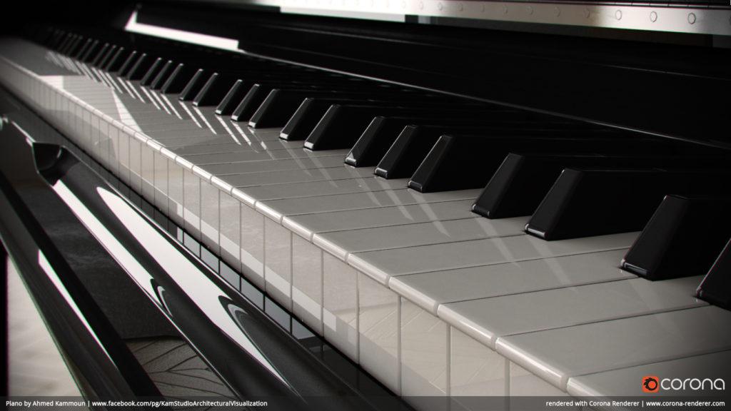 Piano by Ahmed Kammoun