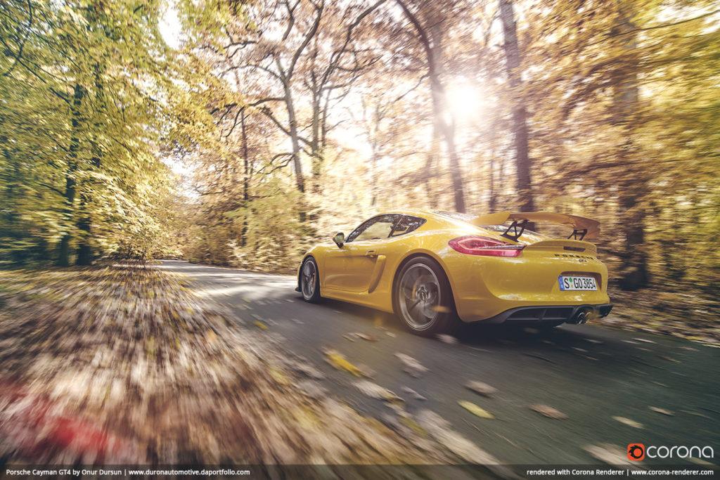 Porsche Cayman GT4 by Onur Dursun 02