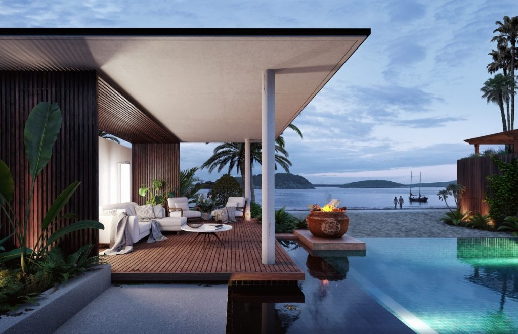 Davide Calabrò, render inspired by trip to Zanzibar