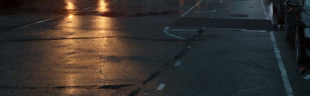Davide Calabrò, road markings in final render