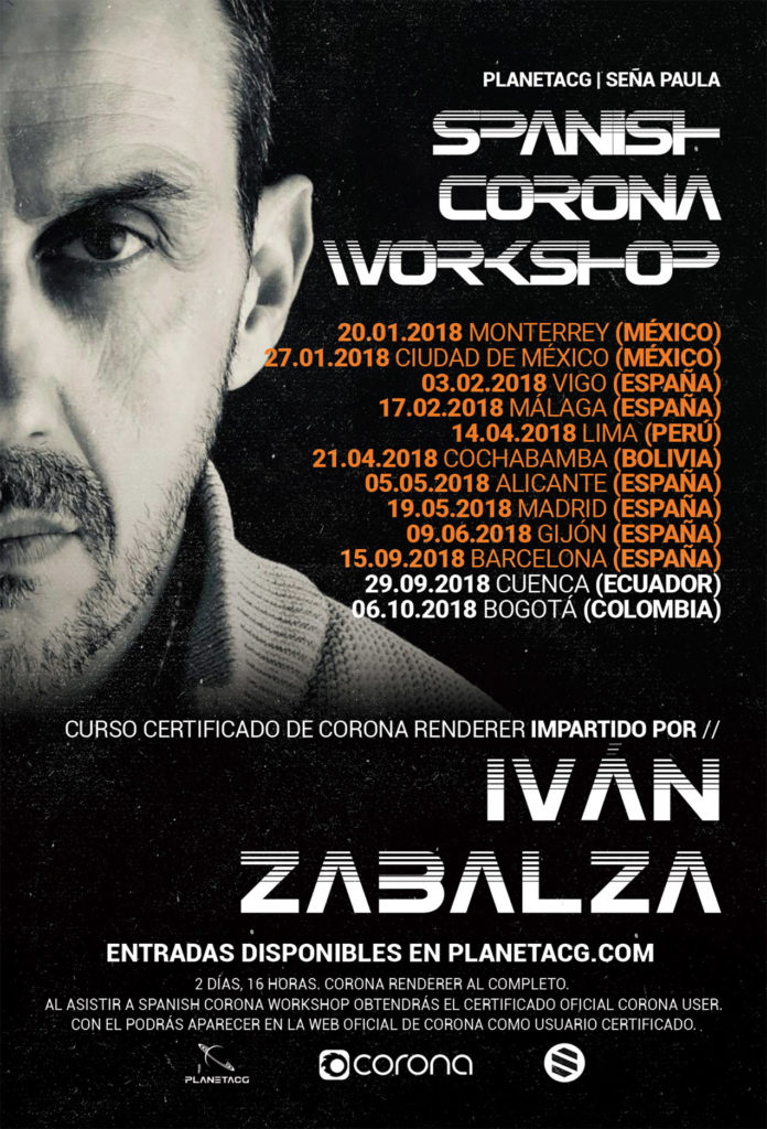 Spanish Corona Workshop poster