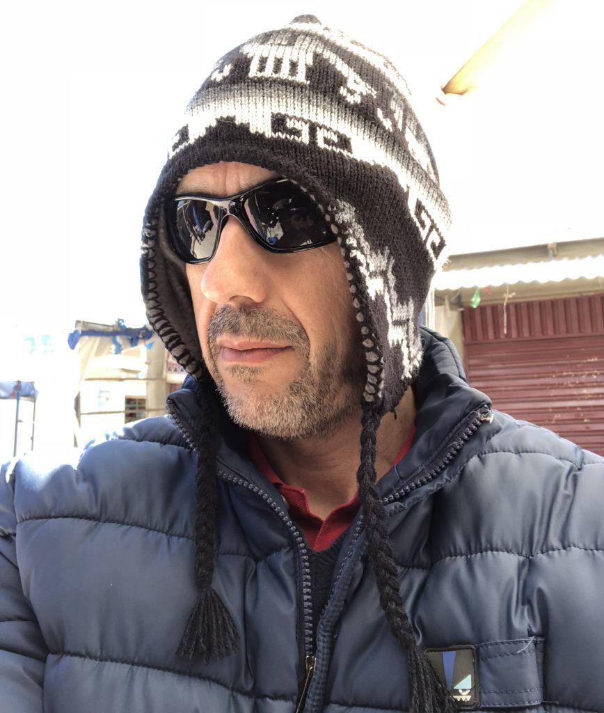Ivan Zabalza in Cochabamba - Bolivia