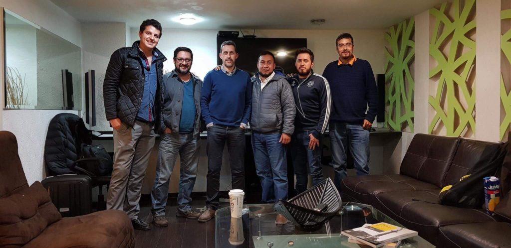 Ivan Zabalza, the Workshop in Mexico City