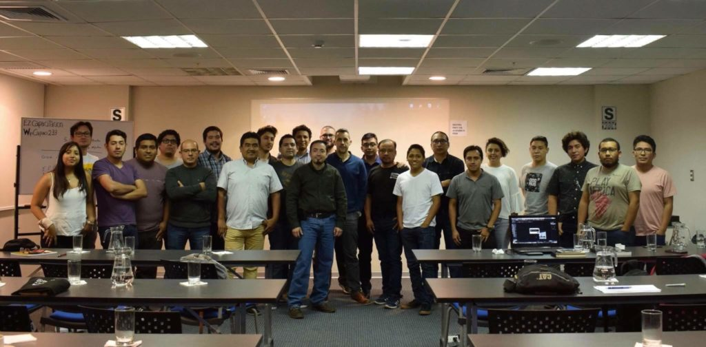 Ivan Zabalza at the Spanish Corona Workshop in Peru