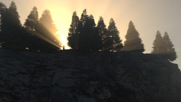 The Corona Volume Material used to create global fog and god rays