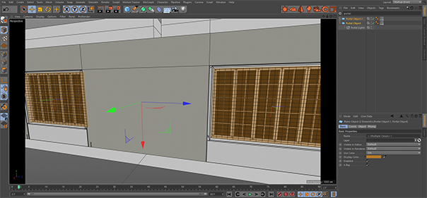 Corona Renderer 3 for Cinema 4D, using portals to reduce noise is easy