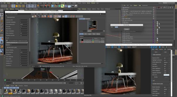 Corona Renderer 3 for Cinema 4D on macOS