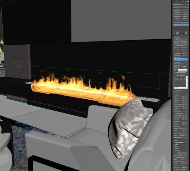 Using Phoenix FD to create fire