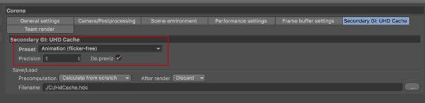 David Turfitt, Corona Renderer for Cinema 4D, settings for animation
