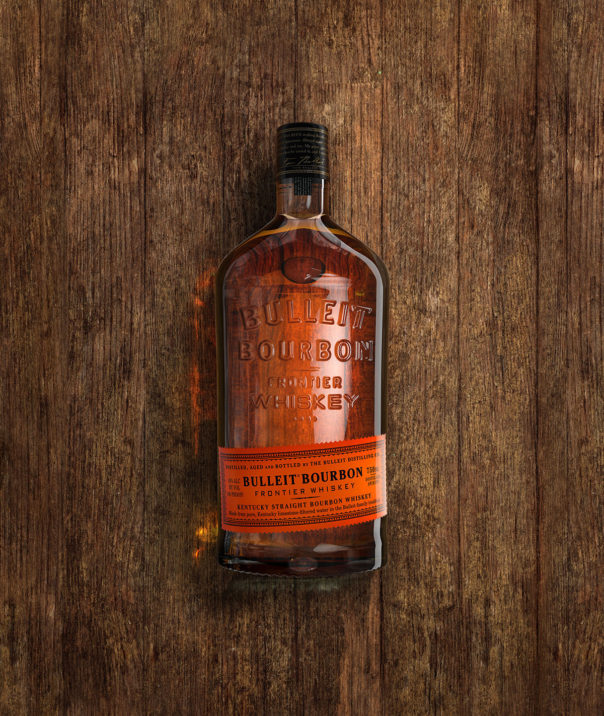 David Turfitt 2013 Bulleit Bourbon bottle RGB300