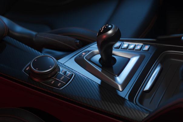 Matteo Rossi, BMW M4 interior, Corona Renderer for Cinema 4D