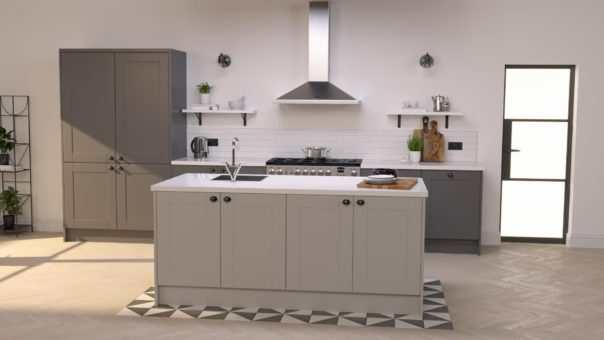 Pikcells, Wren Kitchens TV ads - new 3D models and design in the same studio and lighting