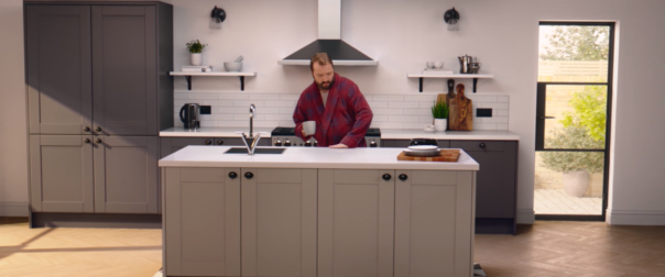 Pikcells, Wren Kitchens TV ads - frame from the final ad