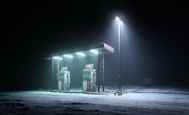 One of Marcin's current renders