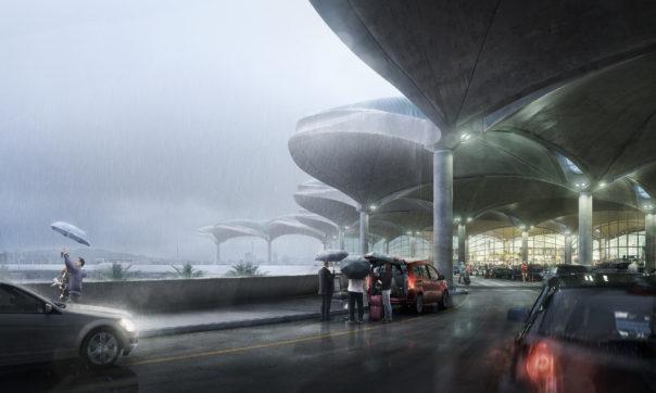 """Marcin's """"Queen Alia International airport"""""""