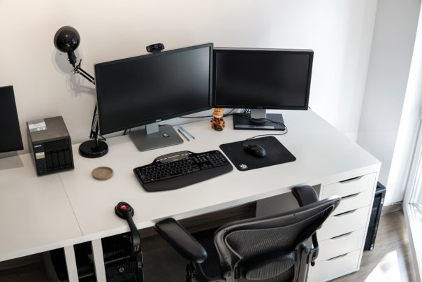 Michal's workspace