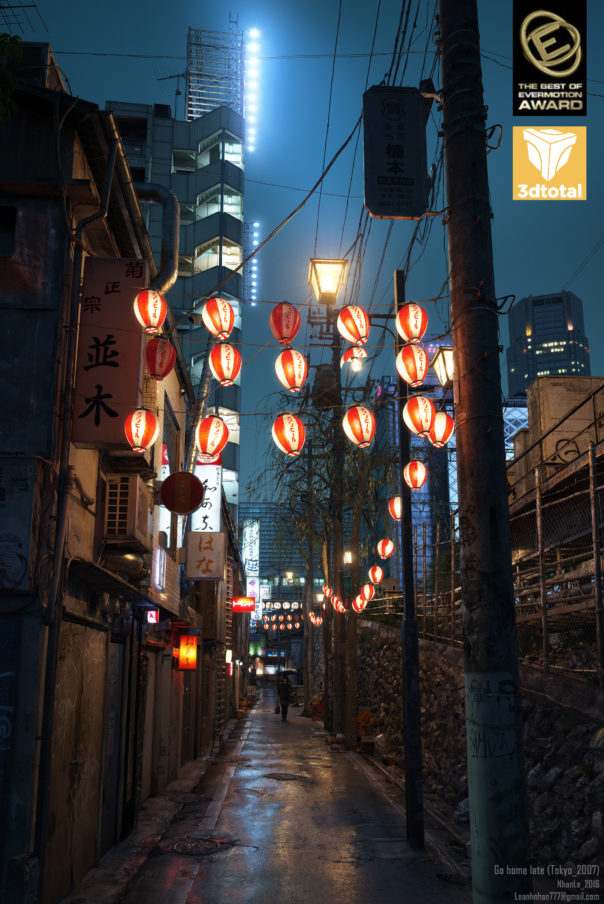 Lê Anh Nhân, Best of Evermotion, & winner of Monthly Scenes Award for October 2016 in 3d Total