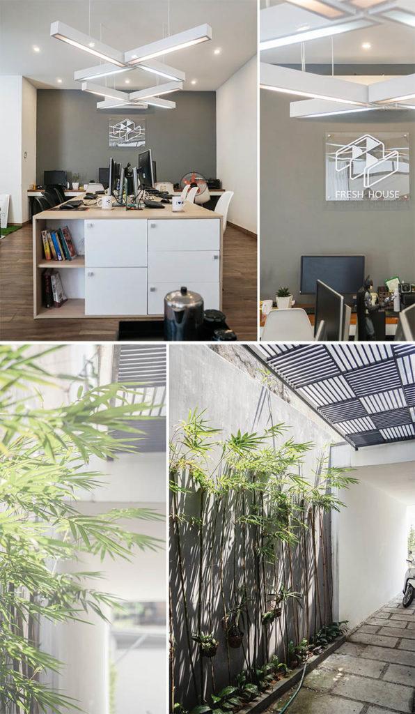 Lê Anh Nhân, photos of the Fresh House offices