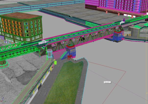 Lê Anh Nhân - Bridges etc. had to be modeled from scratch