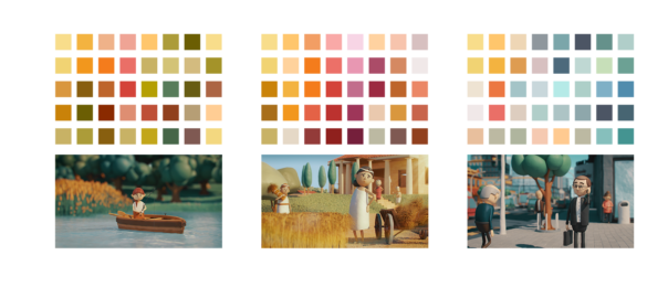 Guave Motion, Economy is Care, color schemes