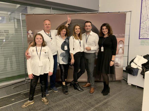 Jakub Cech, CGI: An Artistic Medium, Jakub and his family at the Kijev Premiere!