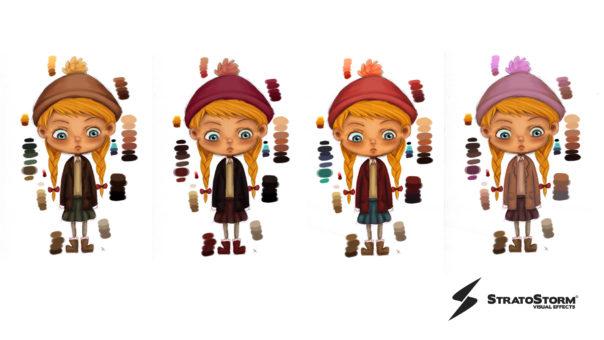 Character concept art, STRATOSTORM Umbrella