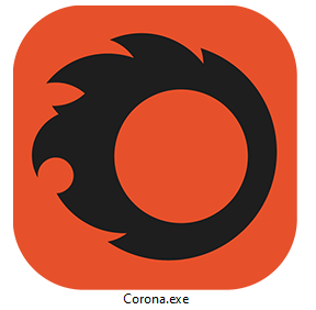 Corona Renderer development blog 01, Corona Standalone EXE icon