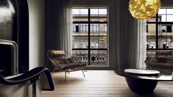 Paris Apartment - CGI by 4pixos