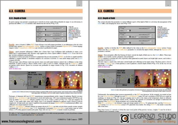 Same page written in Italian and English - Corona: THE COMPLETE GUIDE