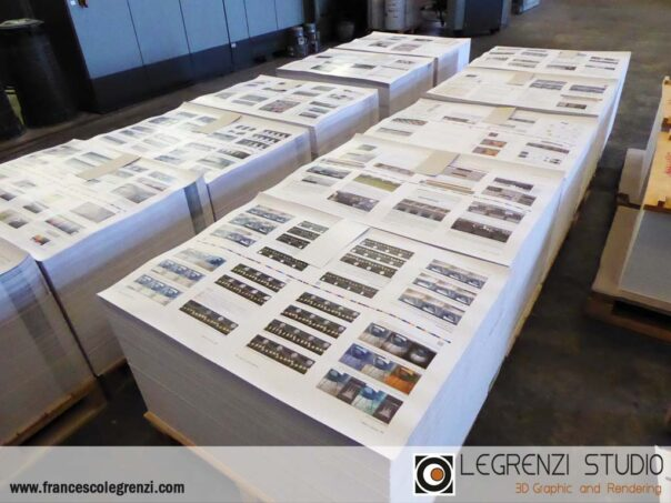 Sheets ready to be sent to the cutting machine - Corona: THE COMPLETE GUIDE