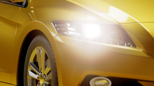 Corona Renderer 7 for Cinema 4D, new Physical Material, Clearcoat example