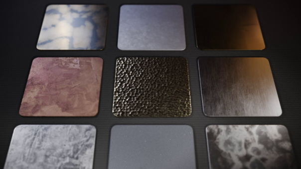 Corona Renderer 7 for 3ds Max - Material Library, Metals